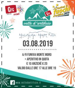 Vette d'artificio a Macugnaga - coupon La Stampa