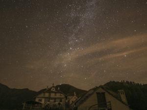 Piana di Vigezzo di notte - ph. Max Boggian