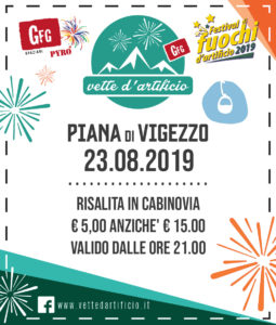 Vette d'artificio alla Piana di Vigezzo - coupon La Stampa
